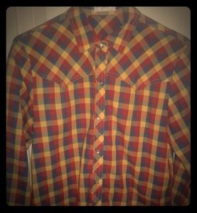 A Levis Strauss & Company button down long sleeve